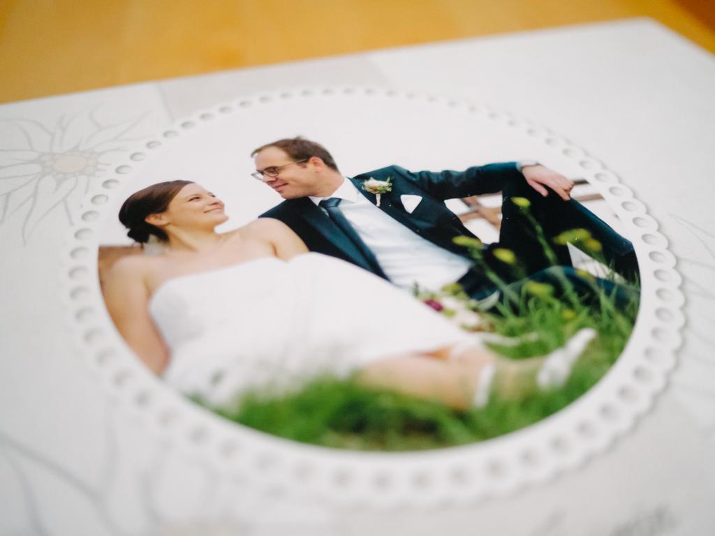 Titel Hochzeitsfotografie Hochzeitsfotoalbum